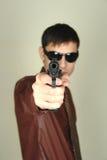 Secret agent Royalty Free Stock Images