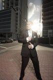 Secret agent man Stock Image
