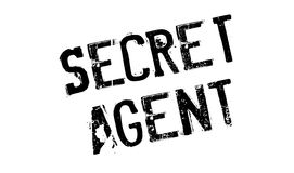 Secret Agent rubber stamp Royalty Free Stock Photography