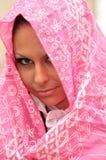 Secret arabian girl Stock Image