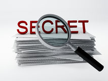 Secret archive Royalty Free Stock Photos