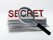 Secret archive Royalty Free Stock Photos
