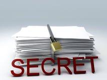 Secret archive Stock Image