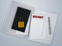 Secret archive Stock Photos