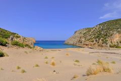 Secret Bay in the Mediterranean Royalty Free Stock Photo