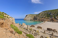 Secret Bay in the Mediterranean Royalty Free Stock Photos