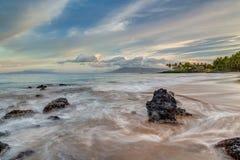 Secret Beach, South Maui Sunrise Stock Images