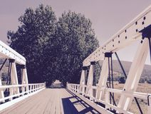 Secret bridge Stock Images