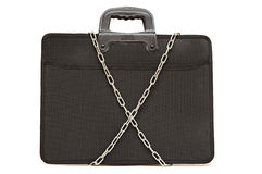 Secret business briefcase Royalty Free Stock Photo