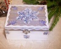 Secret christmas chest Stock Photography