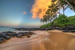 Secret Cove Makena Sunrise Royalty Free Stock Photo