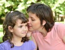 Secret de famille Image stock