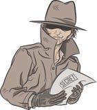 Secret Detective Royalty Free Stock Photos