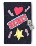 Secret Diary stock photos