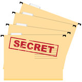 Secret documents Stock Images
