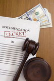 Secret documents Stock Photos