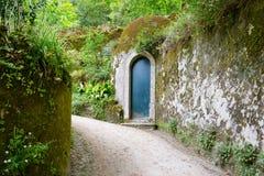 Free Secret Door In The Garden Stock Image - 36205931
