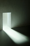 Secret doorway. To a fantasy world stock image