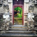 Secret doorways Bali Stock Photo