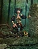 The Secret Elves Rock, 3d CG Stock Images