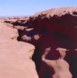 Secret entrance to Antelope Canyon Royalty Free Stock Photo