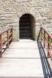 Secret entrance to the Dryanovo Monastery in Bulgaria Stock Photo
