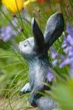Secret garden. Rabbit ornament Royalty Free Stock Photos