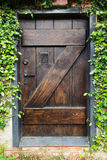 Secret Garden Door Royalty Free Stock Photography