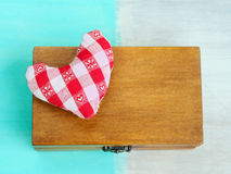Secret gift with love Royalty Free Stock Photos