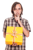 Secret gift Royalty Free Stock Photos