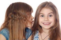 Secret heureux Photographie stock libre de droits