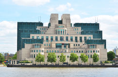Secret Intelligence Service Building (SIS) Stock Photo