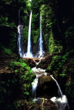 Secret jungle Waterfall Pucak Manik, Hidden in the jungle Stock Images