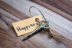 Secret key for a happy life royalty free stock images