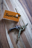 Secret key for a successful life Stock Photos