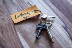 Secret keys for letting go of life Royalty Free Stock Photography