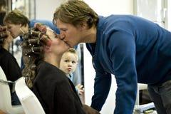 Secret Kiss Royalty Free Stock Image