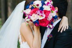 The secret kiss Stock Image