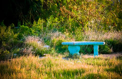 Secret Lovers Garden Bench Stock Photography
