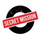 Secret Mission rubber stamp Royalty Free Stock Images