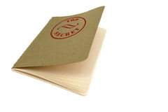 Secret note book. Beautiful note book with top secret stamp Stock Photos