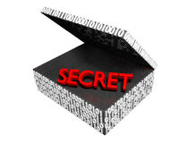 Secret in a Numeric Box Royalty Free Stock Image