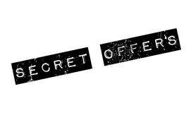 Secret Offers rubber stamp Stock Photo