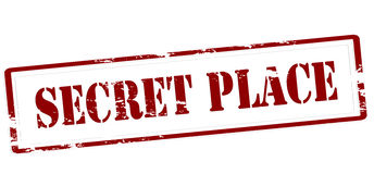 Secret place Stock Image