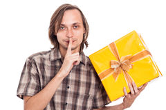 Secret present Royalty Free Stock Images