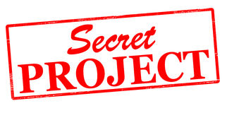 Secret project Royalty Free Stock Image