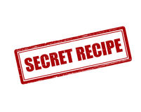 Secret recipe Royalty Free Stock Images