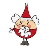 Secret santa claus Royalty Free Stock Image