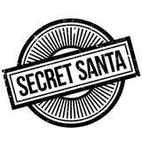 Secret Santa rubber stamp Stock Images