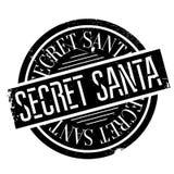 Secret Santa rubber stamp Stock Photography